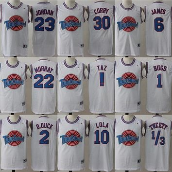 Champion Space Jam Tune Squad Basketball Jerseys White