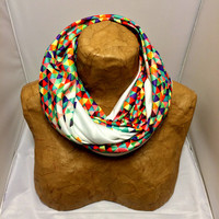 Colorful Knit Scarf - Funfetti 2: Electric Boogaloo - Confetti Scarf