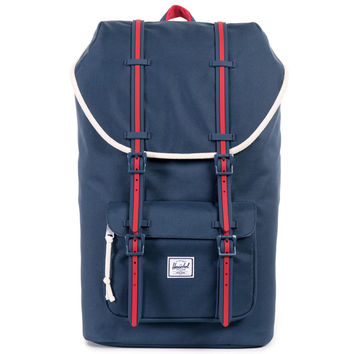 "Herschel Little America Backpack ""Home"" - Red/White/Blue"