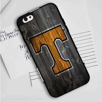 Tennessee Vols (wood) iPhone Case