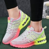 Running shoes for women 2018 air cushion sporty woman sneakers mesh breathable  platform women sneakers outdoor tennis shoes