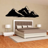 Vinyl Wall Decal Sticker Mountains #OS_MB914