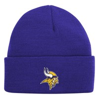 Minnesota Vikings Cuffed Beanie - Youth (Mvk Team)