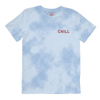 Altru Apparel Chill Embroidery Tie Dye Style Tee