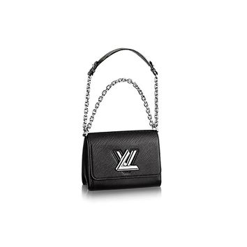 Authentic Louis Vuitton Epi Leather Twist PM Purse Handbag Article:M50332 Noir Made in France