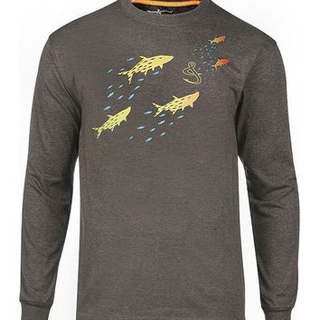 Men's Tarpon Chase L/S UV Fishing T-Shirt