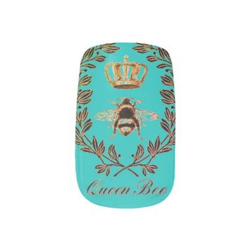 Minx Nail Art by NW42nd Designs Queen Bee III