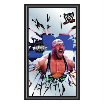 WWE Ryback Framed Logo Mirror