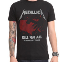 Metallica Kill 'Em All Summer Tour T-Shirt 2XL