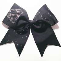 Superman Cheer Bow