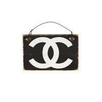 Chanel Sign Wooden Sign