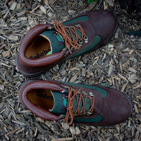 Timberland Field Boot - Brown / Forest Green | Boot | Kith NYC
