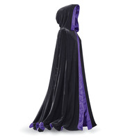 Laurie Cabot Reversible Purple Cape - New Age, Spiritual Gifts, Yoga, Wicca, Gothic, Reiki, Celtic, Crystal, Tarot at Pyramid Collection