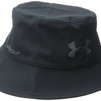 Under Armour Men's GORE-TEX Bucket Hat, Black (001), Large