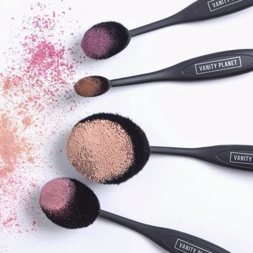 Blend Party - Oval Makeup Brush Kit