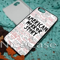American Horror Story Quote iPhone Case And Samsung Galaxy Case