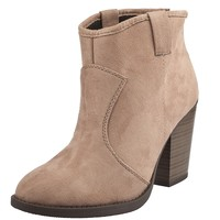 Shop Prima Donna - Corral Ankle Boots Taupe at Prima donna