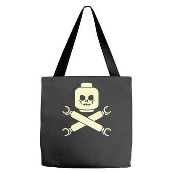 plastic block pirates Tote Bags