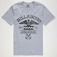 Billabong Double Standard Mens T-Shirt Heather  In Sizes