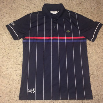 Sale!! LACOSTE Andy Roddick Tennis Polo Shirt