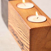 Farmhaus Blochaus Triple Candle Holder - Urban Outfitters