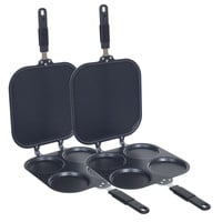 Chef Buddy Perfect Pancake Maker with Rubber Grip Handle (Set of 2)