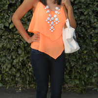 Sold Out! Sunkissed Blouse