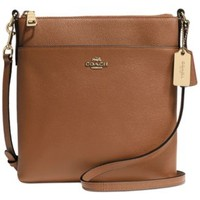 COACH NORTH/SOUTH SWINGPACK IN EMBOSSED TEXTURED LEATHER | macys.com