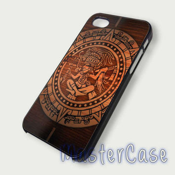 Aztec Mayan Calendar - Hard Plastic,Covers Phone,Custom IPhone 5,IPhone 4,Samsung Galaxy S3,S4,Blackberry,HTC One -AA228-12