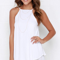 Dee Elle Whimsical Whim Ivory Dress