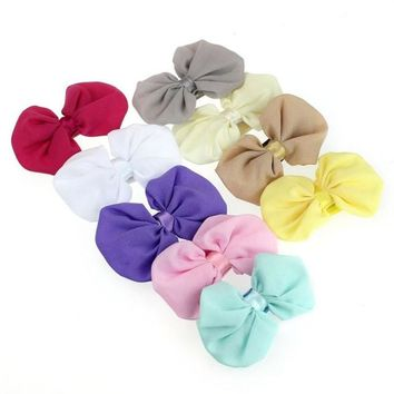 9Pcs Kawaii Girl Headbands Bowknot Elastic Hair Wear Accessories Summer Style Heand Bands Bandeau Fille#121