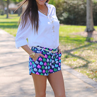 Skipper Shorts, Navy