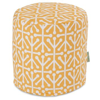 Citrus Aruba Small Pouf