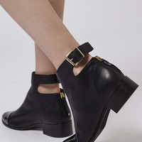 ACE Back Buckle Boots - Topshop