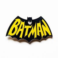 Free Shipping 1PCS Batman Pin Badge Cartoon Acrylic Badges Icons on The Backpack Decoration Brooch Badges For Clothing