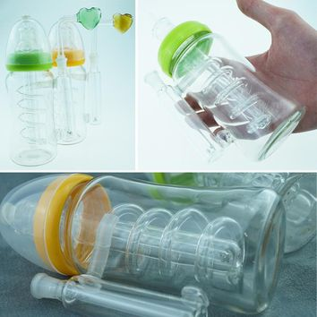 2018 New Babies' Feeder Bottle Shape Hot Products Plastic Crafts Water Filtration Full Set New Pattern Creative