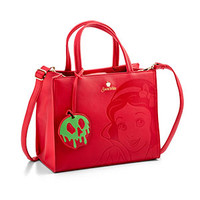 Disney Snow White Debossed Faux Leather Satchel Bag