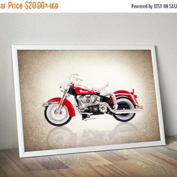 Weekend Sale Harley Davidson 1962 FLH Duo Glide photo print,Decor ideas,Wall art,boys room decor,harley davidson decor,motorcycle decor,harl