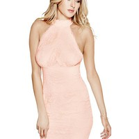 Noel Sleeveless Lace Dress at Guess