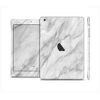 The White Marble Surface Full Body Skin Set for the Apple iPad Mini 2