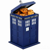 DR. WHO TARDIS COOKIE JAR