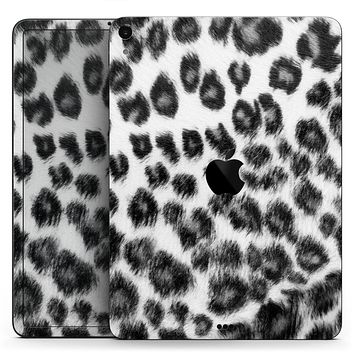"Real Snow Leopard Hide - Full Body Skin Decal for the Apple iPad Pro 12.9"", 11"", 10.5"", 9.7"", Air or Mini (All Models Available)"
