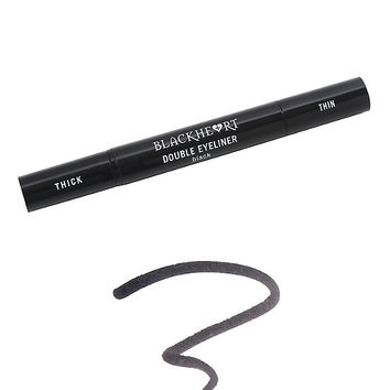 Blackheart Beauty Black Double Ended Eyeliner