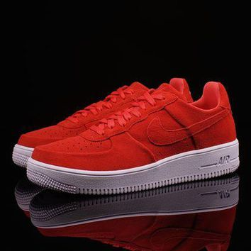 DCC3W Whosale Online NIKE AIR FORCE 1 ULTRAFORCE Track Red
