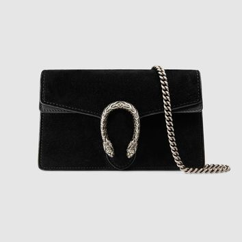 Gucci Dionysus suede super mini bag