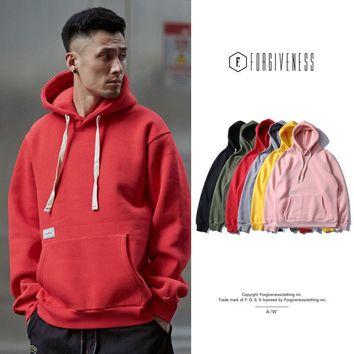Hats Autumn Men's Fashion Simple Design Hoodies [10895416195]