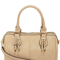 Bag of Tricks Beige Handbag