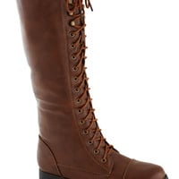 Melodic Moment Boot in Brown | Mod Retro Vintage Boots | ModCloth.com
