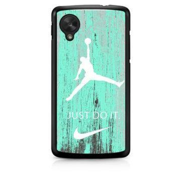 CREYUG7 Nike Jordan Mint Wood LG Nexus 5 Case