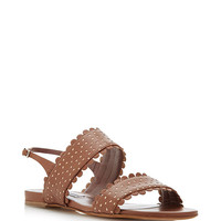 Loopsey Perforated Leather Sandals